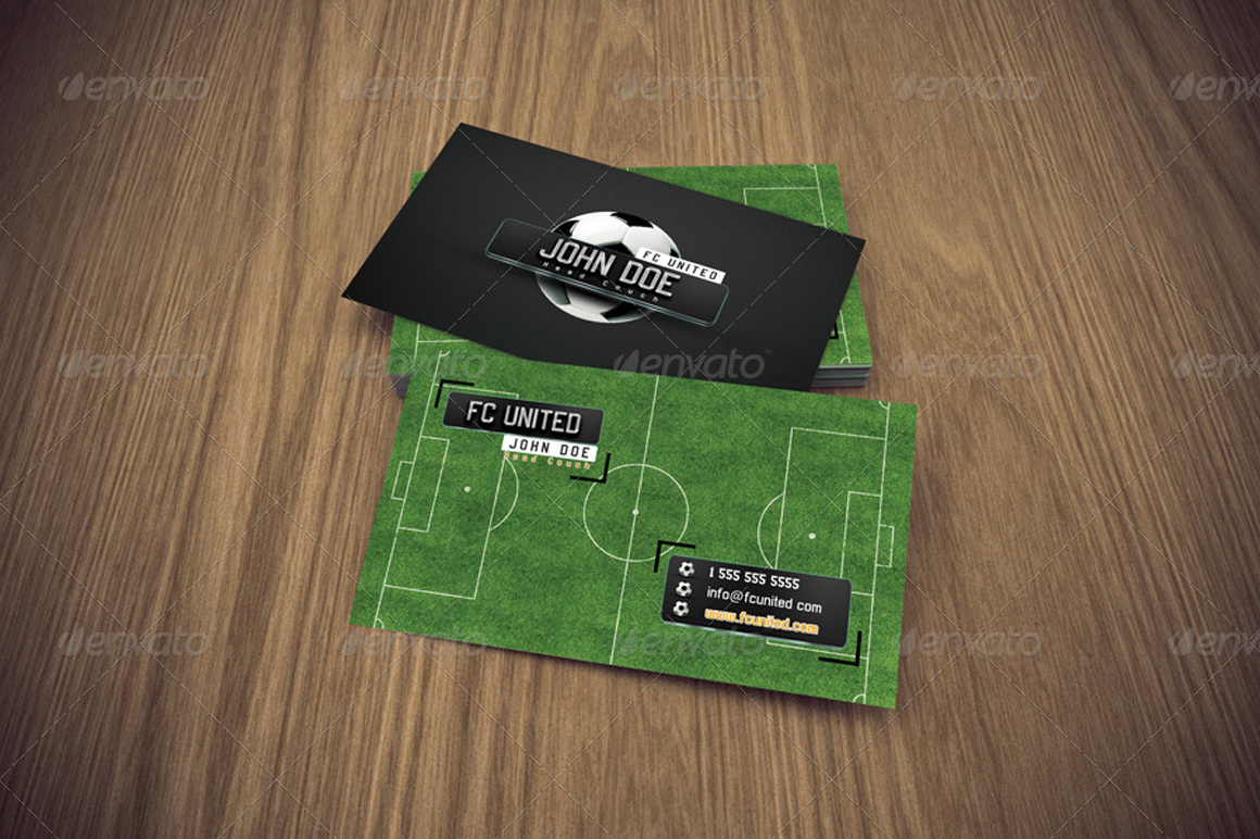 Giant Design | Business Card Soccer