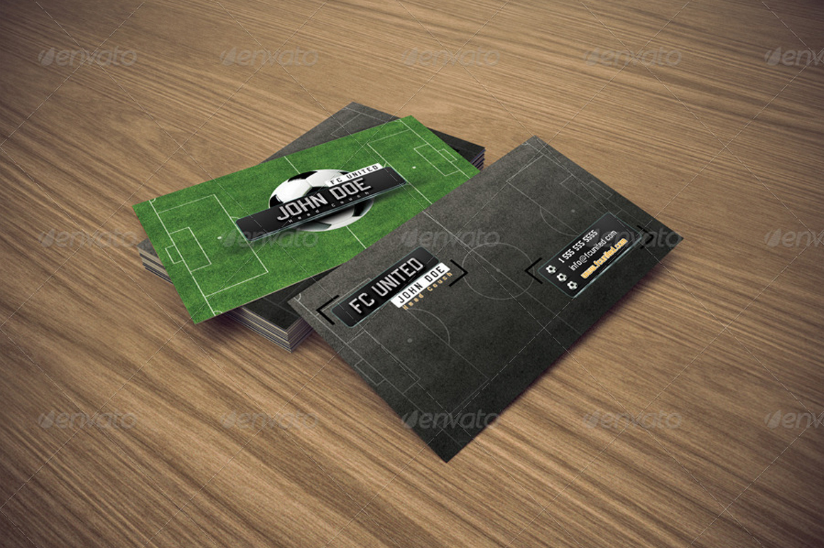 Giant design business card soccer business card soccer magicingreecefo Gallery