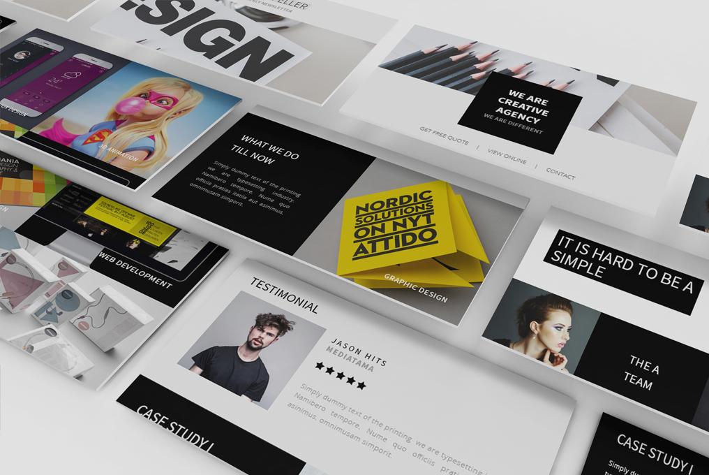 Rockefeller - Creative Agency Responsive Email Template - 4